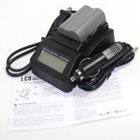 1pcs EN-EL3e EN EL3e ENEL3e 1800mAh Camera bateria Batteries AKKU + Fast LCD Charger For Nikon D50 D70 D80 D90 D100 D200 D300