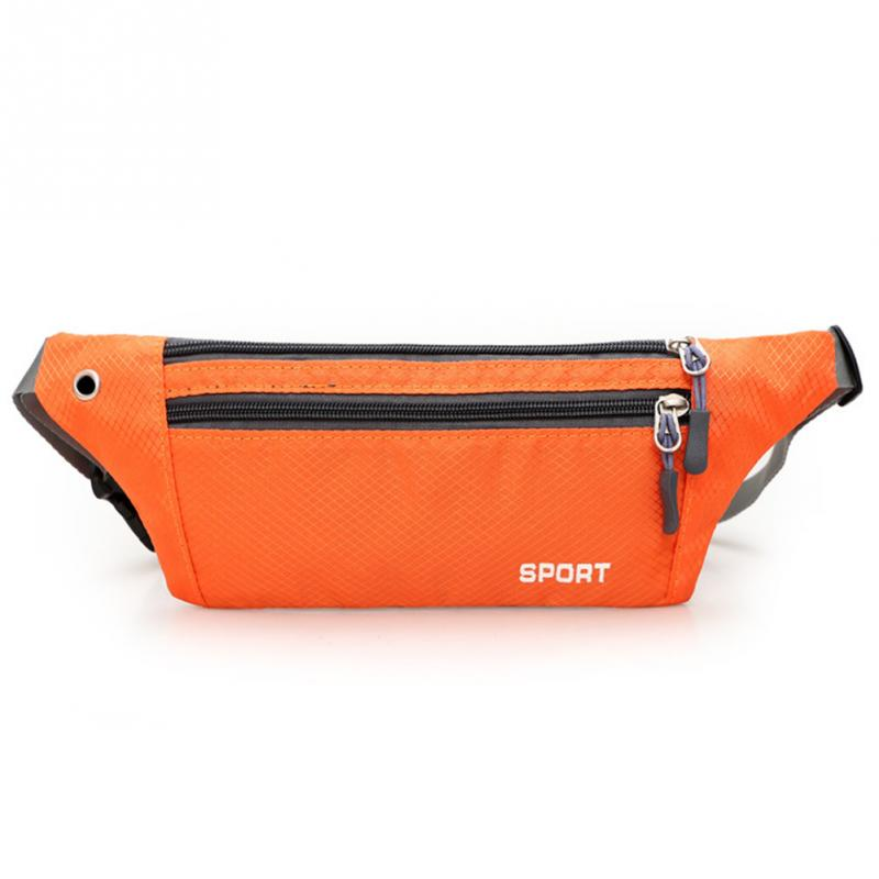 New Nylon Sports Waist Pack For Men Women Unisex Waterproof Fanny Pack Bum Bag Hip Money Belt Travel Running Mobile Phone Bag