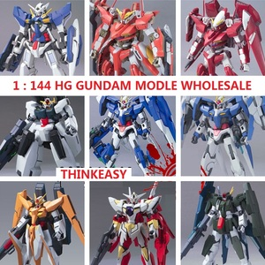GAOGAO Gundam Model HG 1/144 Wing ZERO Justice Freedom 00 Destiny Armor RX-78 Ready Player One Unchained Mobile Suit