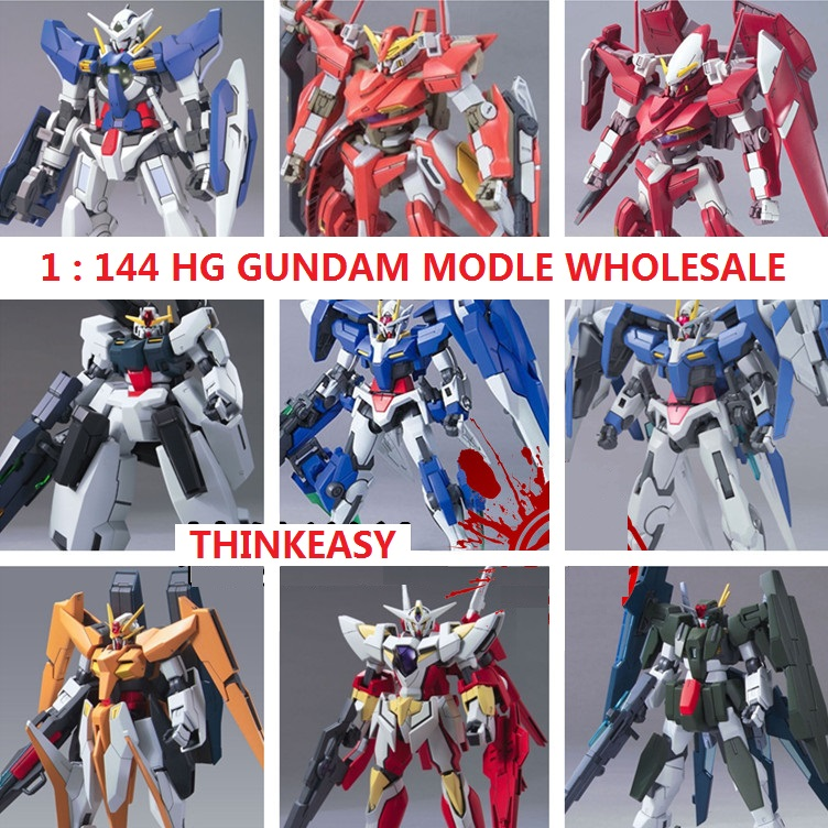 GAOGAO Gundam Model MG 1/144 Wing ZERO Justice Freedom 00 Destiny Armor RX-78 Ready Player One Unchained Mobile Suit