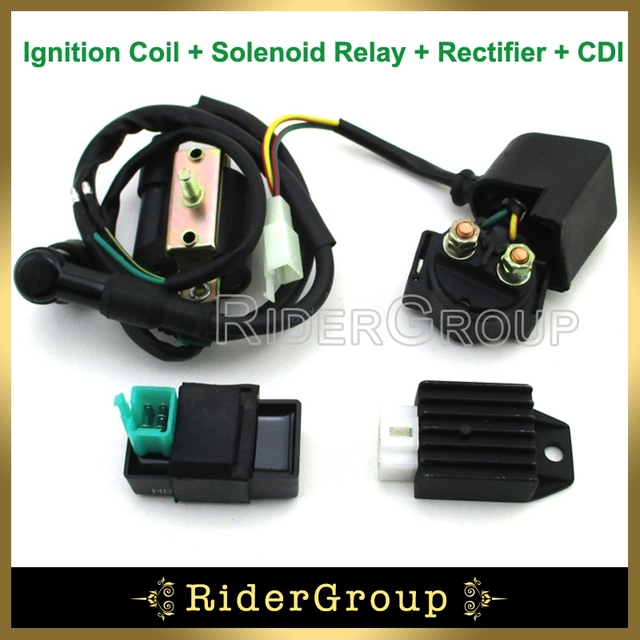 Ignition Coil CDI Solenoid Relay Rectifier Regulator Kit For Kazuma Meerkat 50cc Falcon 90cc 4 Wheeler_640x640 ignition coil cdi solenoid relay rectifier regulator kit for kazuma