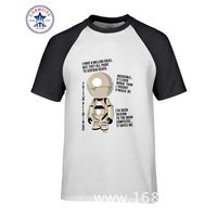 2017 Best Gift For Friend Marvin The Pessimist Robot Funny Cotton T Shirt For Men