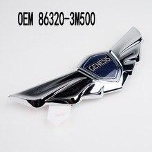 Front Badge Hood Wing Emblem For Hyundai Genesis 2009 2014 OEM 863203M500  86320 3M500