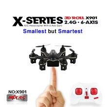 Brand MINI  Drone MJX X901 RC Helicopter 2.4G 6 Axis RTF Smallest Quadcopter Drop Shipping vscx-10a Skeye mini Drone