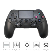2017 Wireless BT Controller for Playstation PS4 Touch Panel Gamepad Dual Vibration 6 Axies Wireless Game Controller
