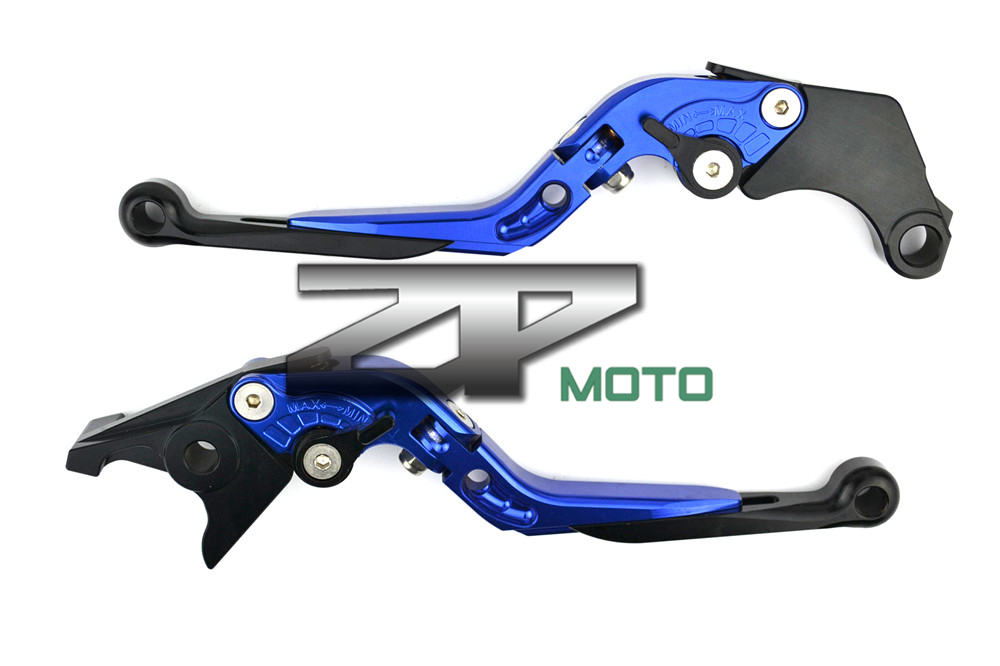Adjustable Folding Extendable Brake Clutch Levers For KTM 990 SuperDuke 05-12 RC8/R 690 09-12 Duke 08-11 8 Colors for ktm 990 superduke