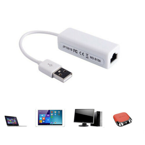 Ethernet 10/100 Wired Network USB Adapter LAN RJ45 To USB 9700 Chip Win7 XP