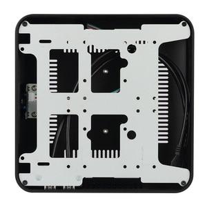 Image 5 - [Coperchio superiore con Fori] Nuovo L80S Custodie Telaio In Alluminio Del Computer Desktop Mainframe Per Il Gioco Telaio FAI DA TE MINI ITX caso