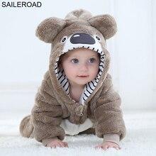 SAILEROAD мультфильм ленивец пижама с молнией для ребенка зимнее новорожденное спальное платье детская одежда одеяло для малыша