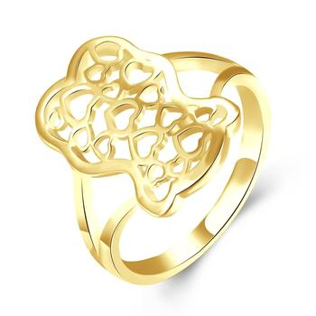 INALIS Classic Art Hollow Heart to Heart Women's Rings Top Quality For Women Silver Plated Jewelry Gift 1