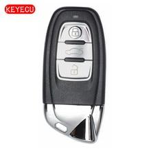 Keyecu Keyecu Smart Remote Key 3 Button 868MHz Fob Modified as L*amborghini for Audi FCC: 8T0 959 754 C/8T0 959 754 J