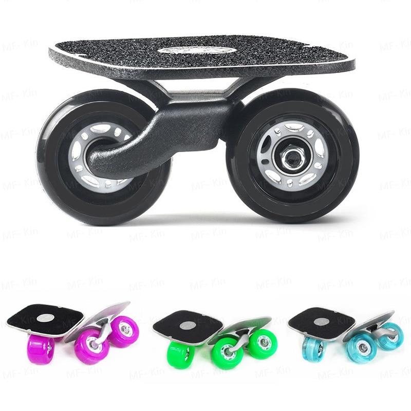 2017 planche de dérive Portable pour Freeline Roller Road Driftboard patins anti-dérapant planche à roulettes sport patines 4 ruedas