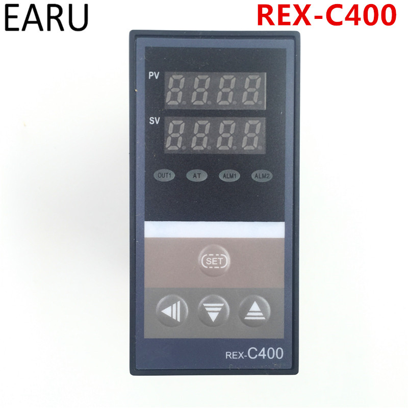 PID Digital Temperature Controller REX-C400 Universal Input Relay SSR Output for Automatic Packing Machine Thermostat Hot