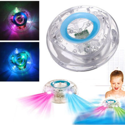 3PCS Color Changed Bathroom Underwater LED Pond Pool Spa Light Waterproof Bath Tub Kids Toy Shower Flashing Floating Nightlight