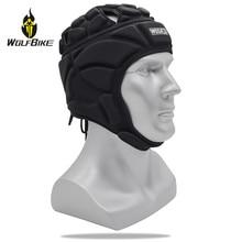 WOSAWE EVA Sponge Bicycle Helmets Anti-Hit Break Sports Baseball Goalkeeper Soccer Rugby Head Protection 50-65cm Caps