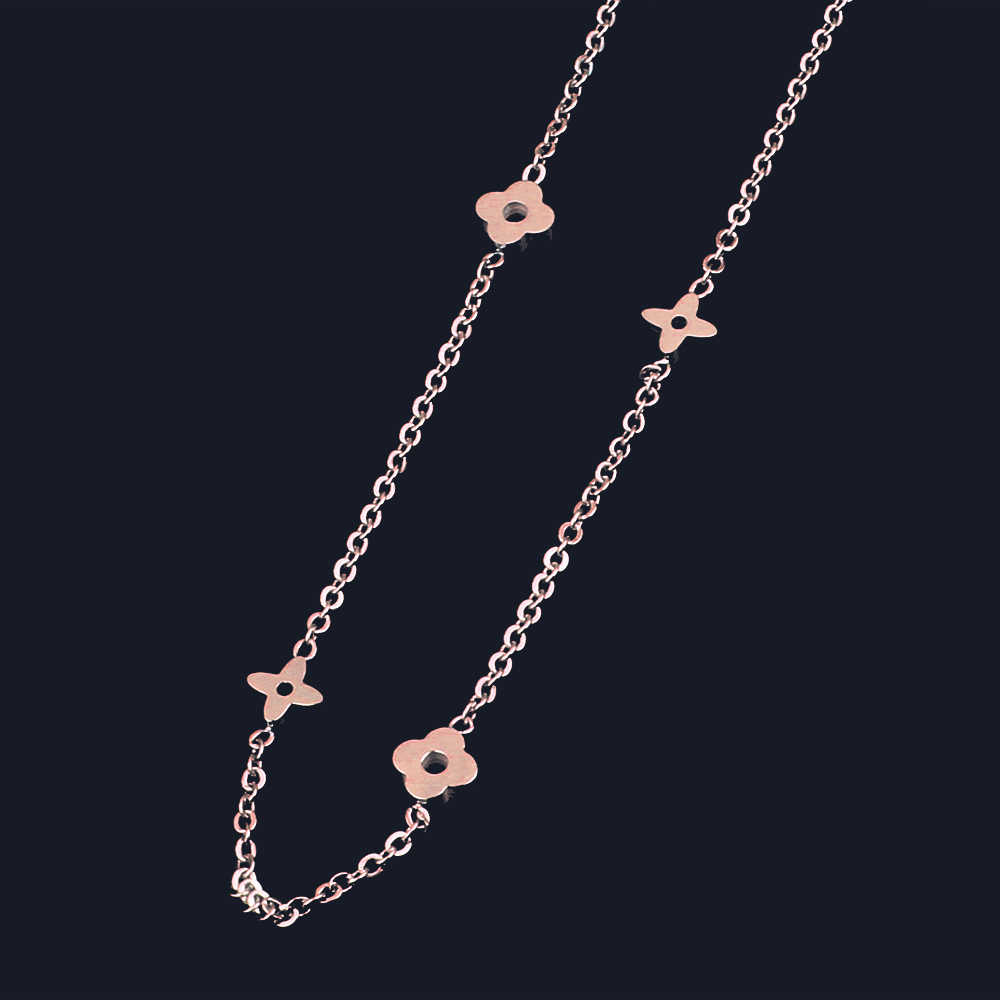 2019 bijoux indian jewelry women's clothing accessories long stainless steel chain collar chocker necklaces & pendants