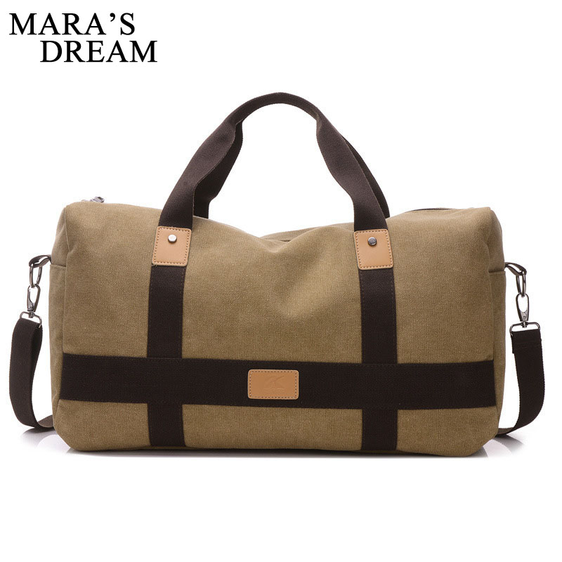 Mara's Dream Casual Vintage Men Messenger Bag Fashion Canvas Solid Unisex Large Capacity Travel Tote Cross-body Classic Handbag casual canvas satchel men sling bag