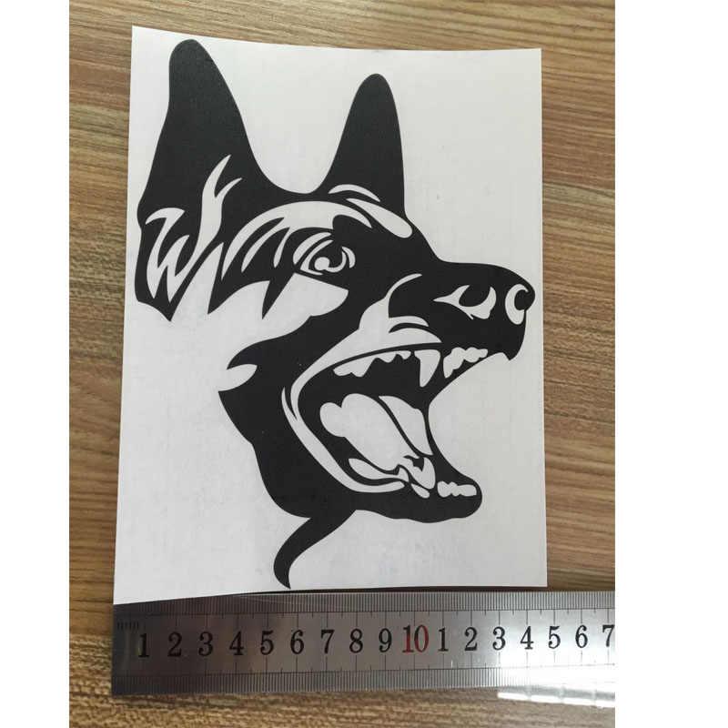 Jual Seperti Kue Panas untuk Mobil Styling Lucu Anjing Gembala Jerman Mobil Stiker Vinyl Stiker Menghias Grafis JDM