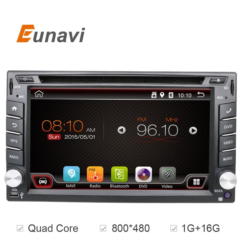 Prix pour Universel 2 din Android 6.0 lecteur DVD de Voiture GPS + Wifi + Bluetooth + Radio + Quad Core + DDR3 + Écran Tactile capacitif + voiture pc + aduio