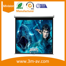 Octagon manual screen 170″ 16:9 Manual Pull Down Auto-Lock Projector Projection Screen HD