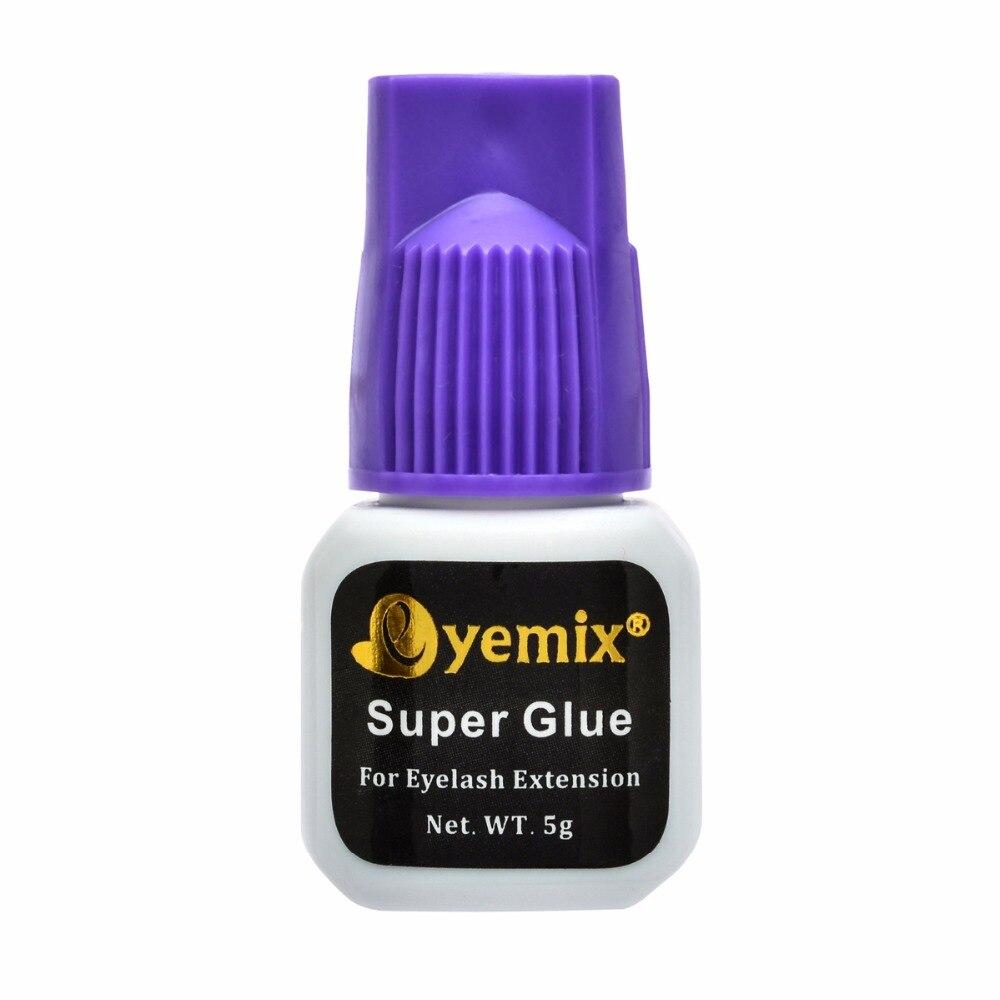 5 ml Extension de Cils Colle Super Glue De la Corée Du Sud individuel colle cils Adhésif force 60 jours