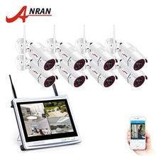 ANRAN 1080P Wireless CCTV System  2MP 8CH NVR Kit Bullet IR NightVision Outdoor CCTV Camera Security System Surveillance Kits