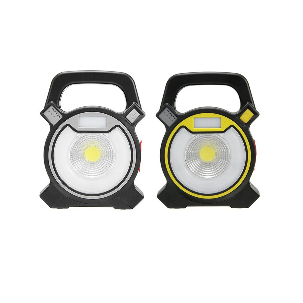 Portable Micro USB Charging 30W COB LED Work Light with Easy-carrying Handle Camping Lights for Outdoor Garden Work