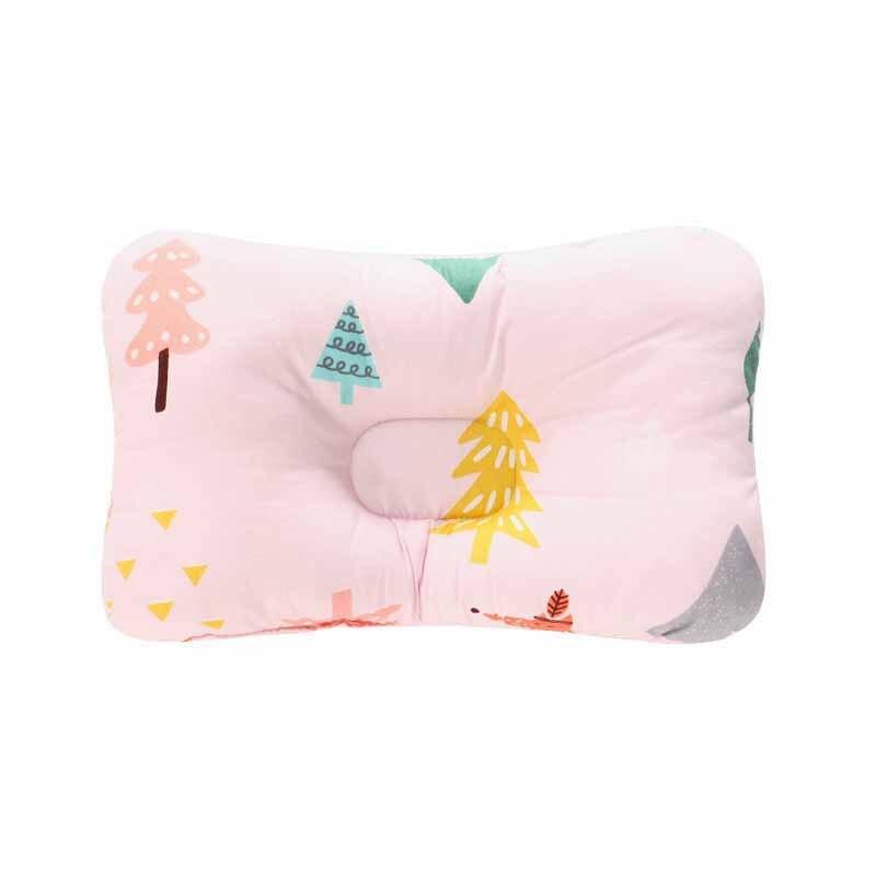 Подушка для младенца, подушка для защиты головы, детское постельное белье, Младенческая подушка для кормления малыша, позиционер для сна против скатывания - Цвет: Небесно-голубой