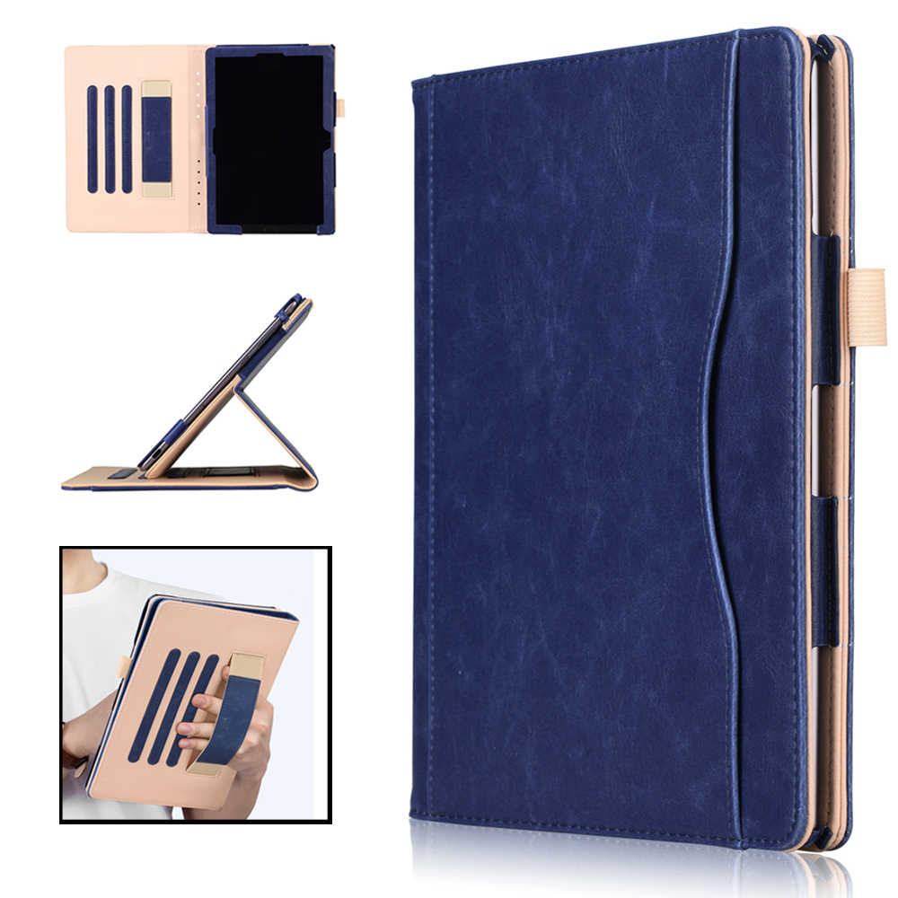 case for Huawei Mediapad M5 10.8 PU Leather Magnetic Stand Folio Hand Holder  cover for funda Huawei M5 10.8 Pro tablet case