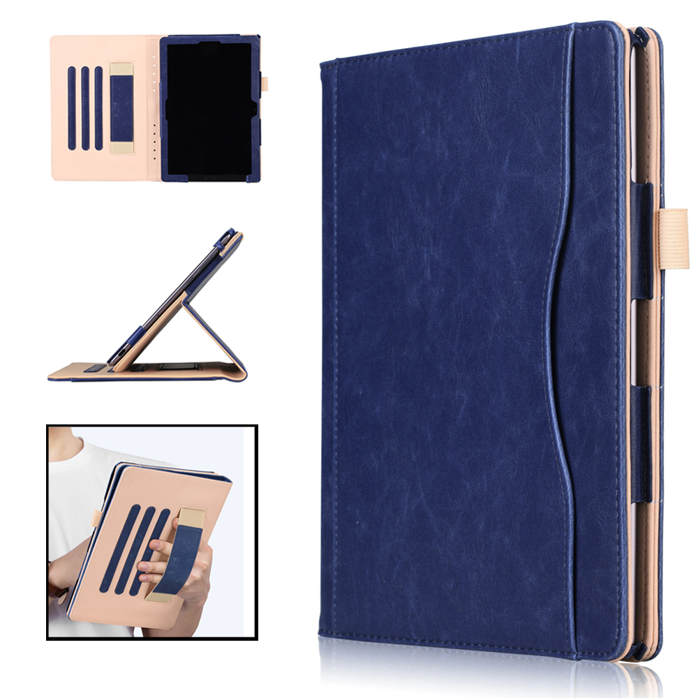 case for Huawei Mediapad M5 10.8 PU Leather Magnetic Stand Folio Hand Holder cover for funda Huawei M5 10.8 Pro tablet case enkay pu leather plastic back case for huawei mediapad m5 10 8 inch