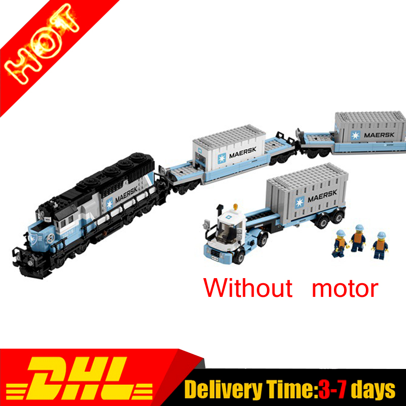 ФОТО 2017 DHL Lepin 21006 New 1234Pcs Genuine Technic Ultimate Series The Maersk Train Set Building Blocks Bricks Educational 10219