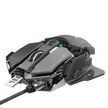 лучшая цена Eat Chicken Mechanical Gaming Mouse For PC Gamer 10 Key Programmable Wired Game Mouse Light Cool Automatic Gun Mouses Mice PC