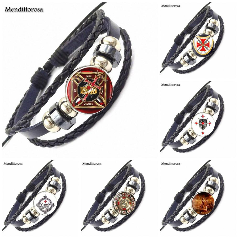 Bracelets & Bangles Jewelry & Accessories Ej Glaze Vintage Glass Cabochon Jewelry With Black Leather Bracelet Bangle For Women Men Fashion Star Exo