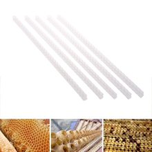 5Pcs Apiculture Hole Beekeeping Tool Bee Queen Cell Single Row Artificial Device polyscience single row six hole pointer shanghai set