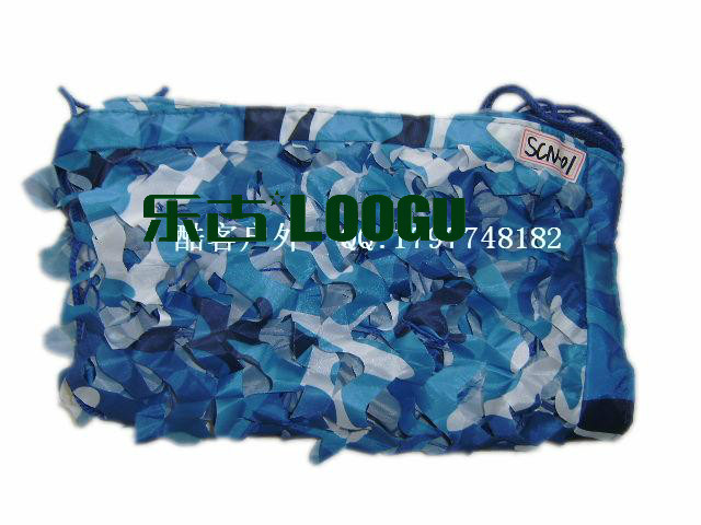 VILEAD 5M 16.5FT Wide Sea Blue Digital Camouflage Net Military Army Camo Netting Sun Shelter Shade Net for Hunting Camping Tent 5m 9m filet camo netting blue camouflage netting sun shelter served as theme party decoration beach shelter balcony tent
