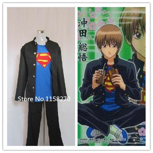 Gin Tama GinTama Sougo Okita 3Z Cosplay Costume Custom-Made
