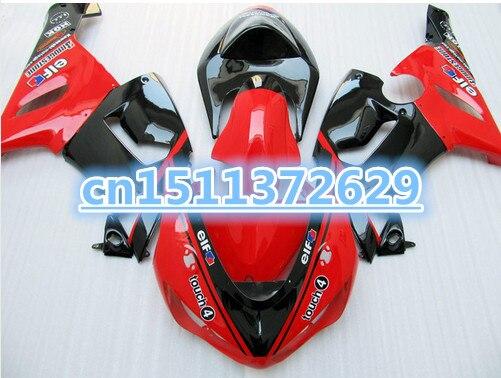 Bo Free Custom For Kawasaki Zx6r Fairings 636 2005 2006 Zx6r 05 06