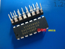 20pcs/lot DAC0800LCN DAC0800L DAC0800 DIP-16 IC 20pcs lot op27gp op27 ad dip8 ic