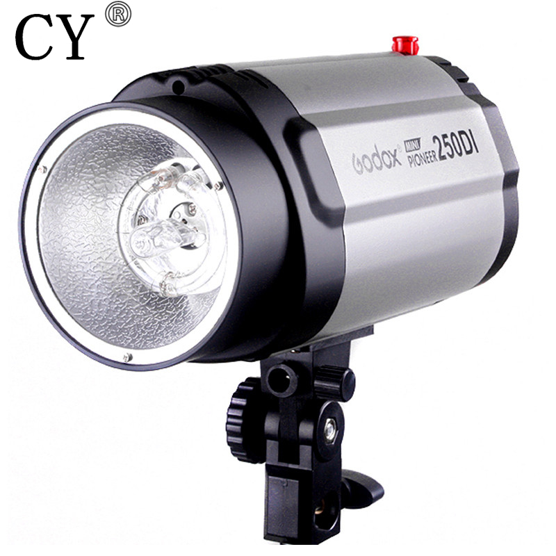 250ws 110V Godox 250DI Photo Studio Mini Strobe Flash Monolight studio flash lighting photography equipment PSLF2B