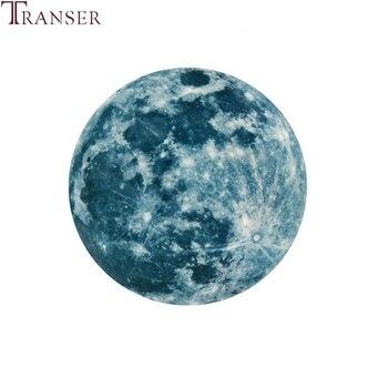5 см/12 см/20 см 3D Большая Луна флуоресцентные светящиеся настенные наклейки Съемный светится в темноте наклейка для гостиной, детской комнаты 90509