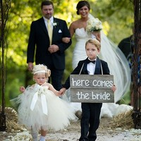 Real Wedding Toddler Flower Girl Dress With Handmade Flowers Beading Satin Sash Knot Bow Ball Gown