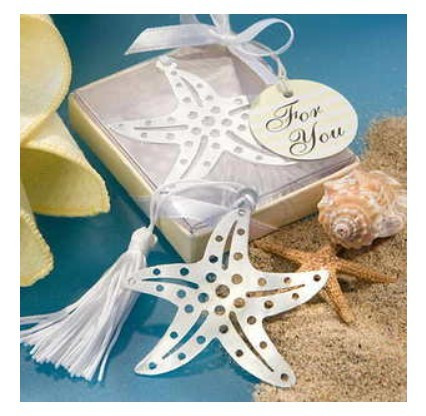 6 Assorted Beach Themed Name//Memo Note Wedding Place Cards Holders Favours Gifts