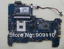 Yourui não-integrado hm55 s989 ati hd5650m para toshiba satellite l670 l675 computador portátil placa-mãe k000103790 nalaa LA-6042P