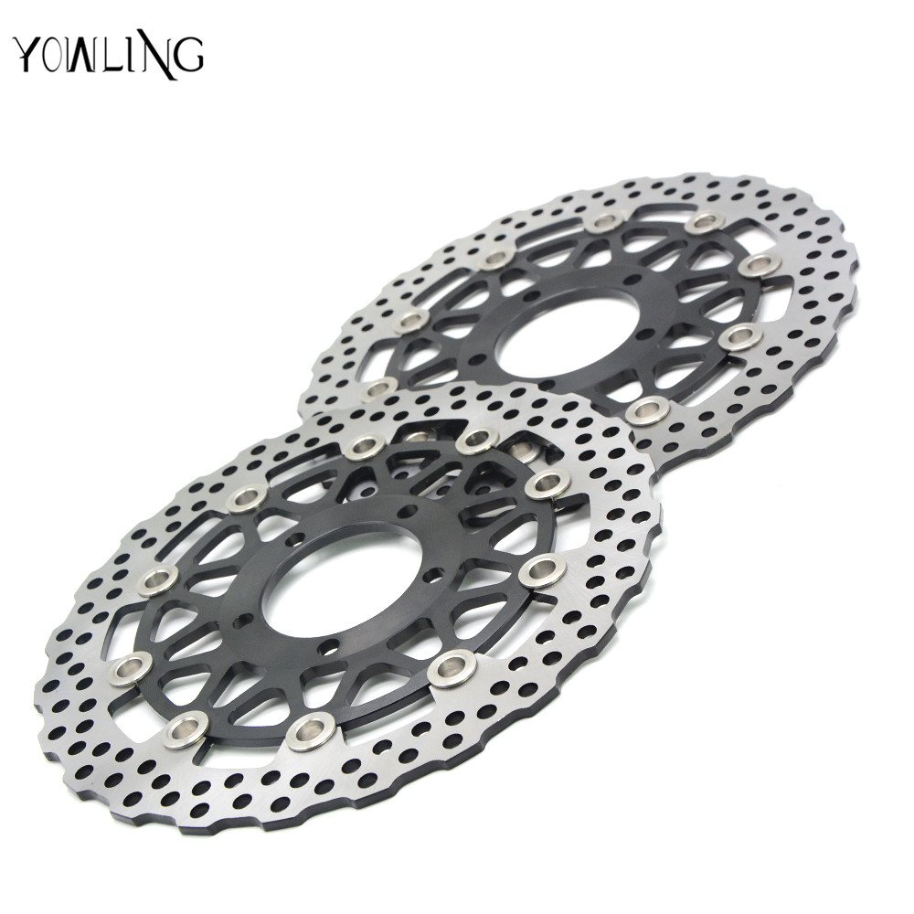 motorcycle accessories Front Brake Disc Rotor For KAWASAKI GTR 1400/ABS A8F-A9F,CAF,CBF ZG1400 2007 2008 2009 2010 2011  free shipping dirt motorcycle front disc brake rotor for kawasaki kl250 super sherpa 1997 2007