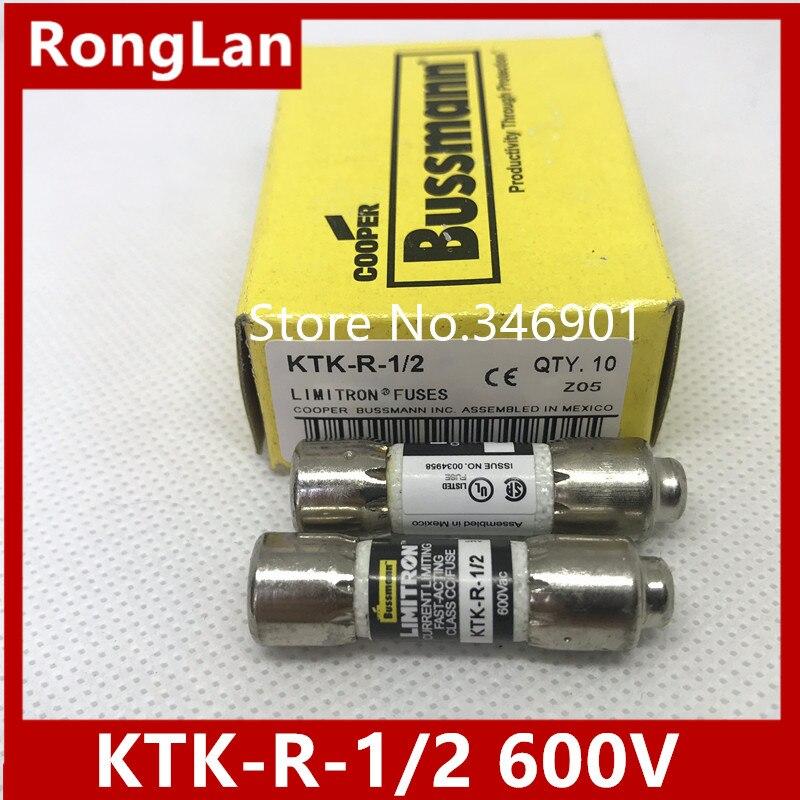 BUSSMANN KTK-R-5 Fuses USA Seller