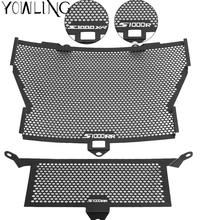 Black Motorcycle Accessories Radiator Guard Protector Grille Grill Cover For BMW S1000XR S1000RR S1000R HP4 Moto Accessories new wholesale motorcycle accessories hand guard protector abs plastic windshield handguards clear color for bmw s1000rr hp4