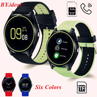 Bluetooth Smart Watch V9 with Camera Smartwatch SIM Card Pedometer Health Sport Clock Hours Men Women Smartwatch For Android IOS
