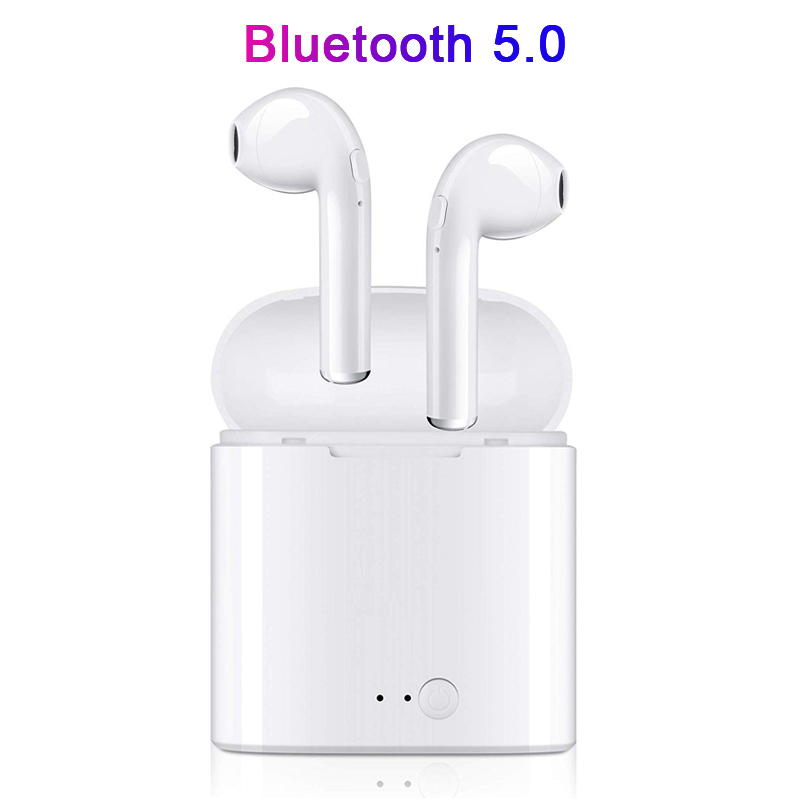 Wireless Bluetooth Earphones TWS In ear Stereo Earbuds Headset With Charging Box Mic Headphones For phone Xiaomi All Smart Phone