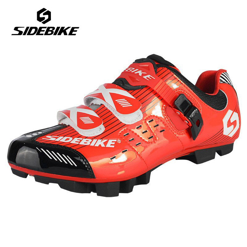 цены SIDEBIKE Men Mountain Bike Cycling Shoes Breathable MTB Self-Locking Bicycle Shoes Non-slip Shoes Zapatillas Zapato Ciclismo