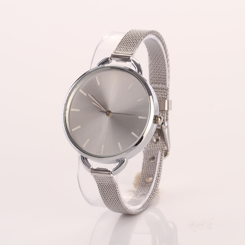 Luxury Gold Montre Bracelet Watch Women Fashion Mesh Band Clock Girl Dress Quartz Wristwatch Womens Reloj Relogio Feminino #Ju smileomg hot sale fashion women crystal stainless steel analog quartz wrist watch bracelet free shipping christmas gift sep 5 page 5